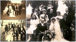 Three family weddings